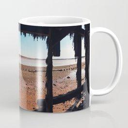 Among the Pilings Coffee Mug