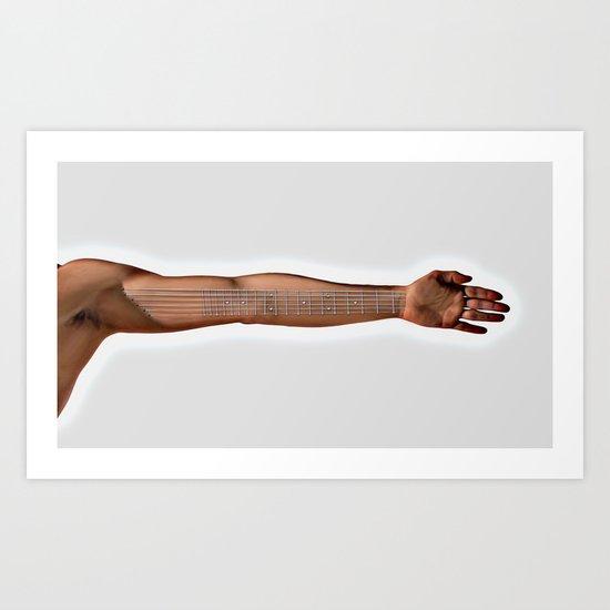 strung Art Print