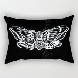 Death's Head Moth Rectangular Pillow
