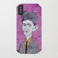 kafka iPhone & iPod Cases featuring Kafka by Dandy