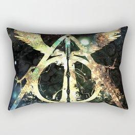 The golden wings Rectangular Pillow