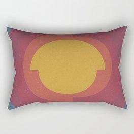 Earth's Core Rectangular Pillow
