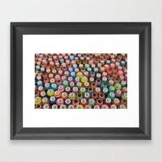 Bobbins Framed Art Print