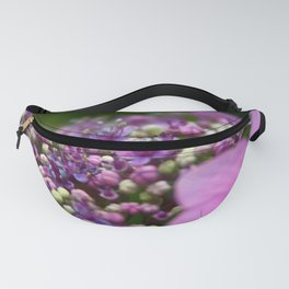 Small Purple Flowers Fanny Pack