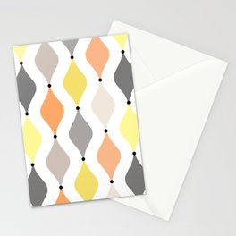 Pastel ogee pattern Stationery Cards