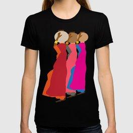 Three women carrying water 1 T-shirt