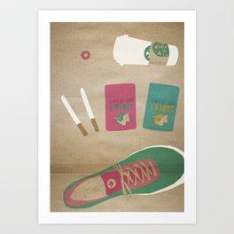 culture illustration Art Print