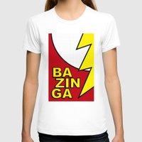 bazinga T-shirts featuring Bazinga by Bazingfy