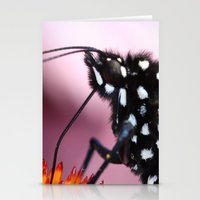 dentist Stationery Cards featuring Monarch Macro by IowaShots