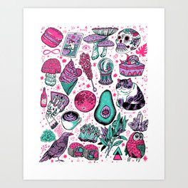 Basic Witch II Art Print