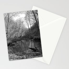 Remnants of a Waterfall  Stationery Cards