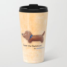 Copper the Dachshund by leatherprince Travel Mug