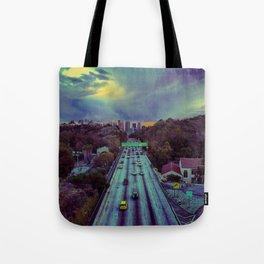 Freeway of Lost Angels Tote Bag