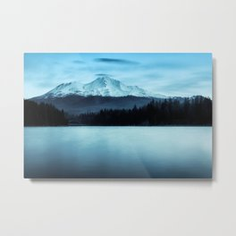 Mount Shasta Morning Metal Print