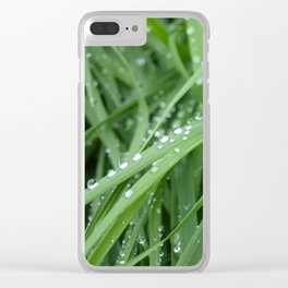 Gras Clear iPhone Case