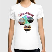 movie posters T-shirts featuring Los Angeles—Movie Poster Edition by laloveshirts