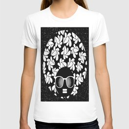 Afro Diva : Black & White T-shirt