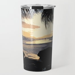 Dover Beach Sunset Travel Mug