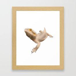 Semi Realistic Beardie Framed Art Print