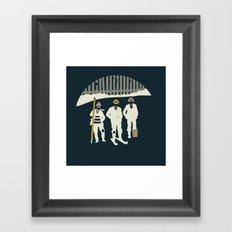 Urban Fae — Alley Scallywags Framed Art Print