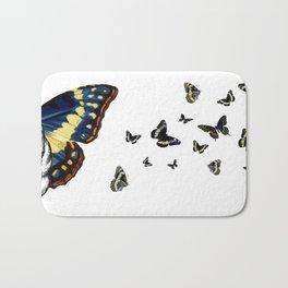 Butterfly Cat Bath Mat