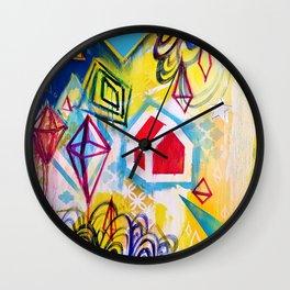 Wandering Star Wall Clock
