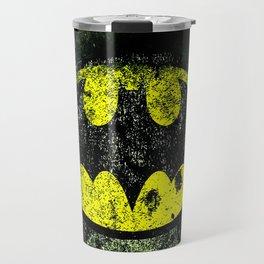 bat logo Travel Mug