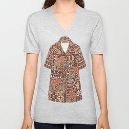 Tapa Shirt Unisex V-Neck