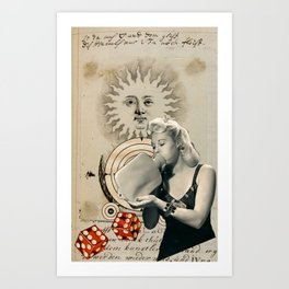 System for Invoking Prosperity Juju #2 Art Print