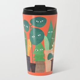 The plants are watching (paranoidos maximucho) Travel Mug