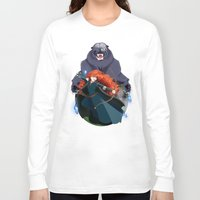merida Long Sleeve T-shirts featuring Merida by Karrashi
