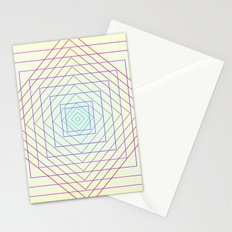 Deep Step Illusion #society6 #lifestyle Stationery Cards
