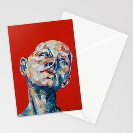 Red Hair Stationery Cards