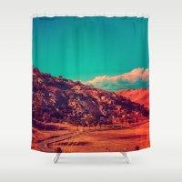 acid Shower Curtains featuring Slow Acid. by Daniel Montero