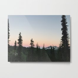 Mt. Reinier Metal Print
