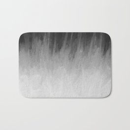 Ice Rays in a Black Sky Bath Mat