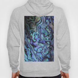 Deep Purple Abalone Shell Hoody
