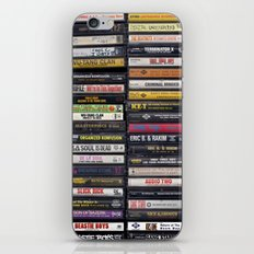 Old 80's & 90's Hip Hop Tapes iPhone & iPod Skin