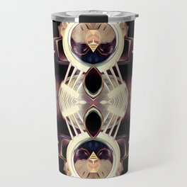 Automotive Abstract Travel Mug