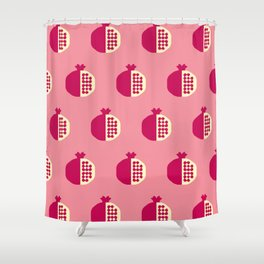 Fruit: Pomegranate Shower Curtain