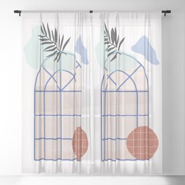 // Royal Gardens 02 Sheer Curtain