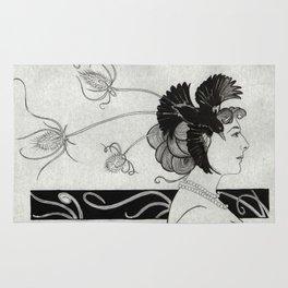Passerine (Mata Hari with teasel) Rug