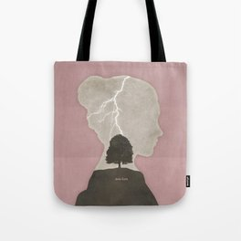 Charlotte Brontë Jane Eyre - Minimalist literary design Tote Bag