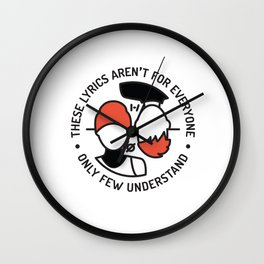 MM Wall Clock