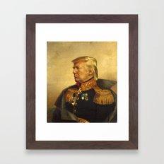 Donald Trump - replaceface Framed Art Print