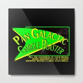 Fictional Brew - Pan Galactic Gargle Blaster Metal Print