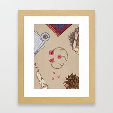 Sunday Framed Art Print