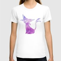 eevee T-shirts featuring Espeon by Zeke Tucker