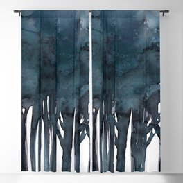Tree Impressions No.1E by Kathy Morton Stanion Blackout Curtain
