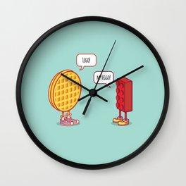 Friends Reunited Wall Clock